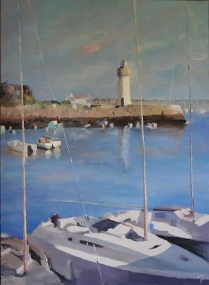 Port Haliguen-Le phare-L