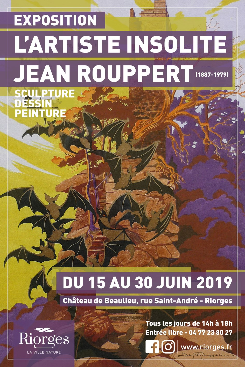 Affiche Jean Rouppert - light