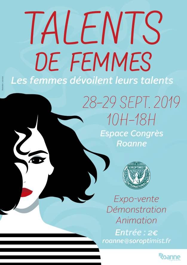 TALENTS DE FEMMES - affiche 2019-L